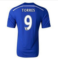 Wholesale 2014 Chelsea TORRES Home Blue Soccer Jerseys AAA Thai Quality England Premier League Football Shirts Cheap Soccer Uniform Kits