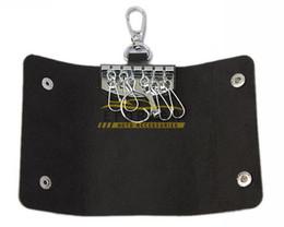 Carteras con cadenas en Línea-Claves del coche bolsa de la caja del sostenedor Cadenas de cuero del monedero de cuero de imitación de envío libre 10X de los hombres de las mujeres