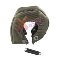 Wholesale Xpower TITANIUM T3 T25 T28 GT25 GT35 Turbo Turbocharger Heat Shield Blanket Cover Wrap