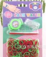 hot best- selling loom bands kit Rainbow loom Rubber band diy...