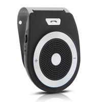 Wholesale Handsfree Wireless Bluetooth V3 Car Kit Speaker Phone Black Silver