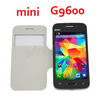 Wholesale Cheap Mini S5 mini G9600 SV Inch Android Cell Phone IPS WVGA Screen Android G GSM Unlocked Dual SIM Wifi Smart Phone