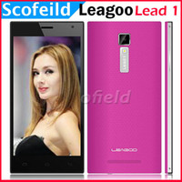 Wholesale LEAGOO Lead Lead1 DG2014 Pro Ultrathin quot MTK6582 Quad core Android Cell Phone SmartPhone IPS HD P G G MP Android kitkat