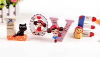 Wholesale LOVE Pura Girl Resin furnishing articles creative very cute sets