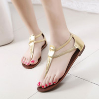 Men Spool Heel No z * ra European style herringbone pinch flat sandals Korea stylenanda summer sandals hollow purchasing