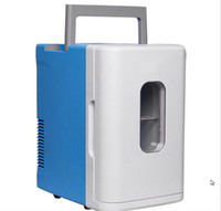 Wholesale 10L mini refrigerators car home dual use hot and cold box refrigerator