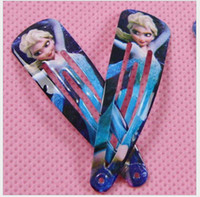 Wholesale Hot Frozen Hair Clips Girls Hair Accessories Clamps Hairpin