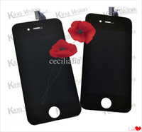 Wholesale Big discount iphone s lcd screen display touch panel digitizer assembly