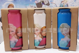 Wholesale 2014 New Arrival Children Water Glass Creative Plastic Cups Hot Sale Fashion Europe Frozen Elsa Anna Set Cartoon Kids cups E0495