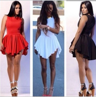 Casual Dresses bodycon dress - Hot Sale irregular hem bandage dress sexy women s plus size skater dress party bodycon dresses