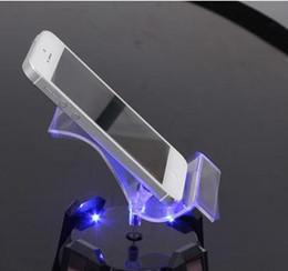 Wholesale Solar mobile phone rotating bracket Mobile phone display Mobile phone holder Mobile phone bracket furnishings