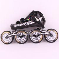 Wholesale PS C6 professional roller skates inline speed skate for adults Blue with Black Color ABEC Carbon fiber or Glass fiber