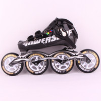 Wholesale PS C6 professional roller skates inline speed skate for adults Blue with Black Color ABEC Carbon fiber or Glass fiber
