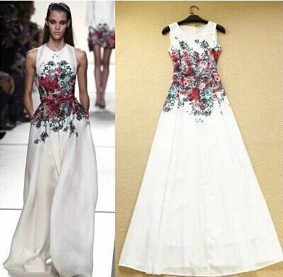 2016 New Arrival Women Casual Maxi Fashion Bohemian Style ...