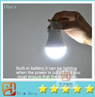 10pcs lot Rechargeable led emergency light 5W 7W E27 LED Bul...