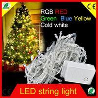 Wholesale 20pcs Hot Holiday Outdoor LED String Lights M V V Christmas Xmas Wedding Party Decorations Garland Lighting