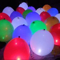 Wholesale color changing LED ballon flashing balloon light up balloon for christmas