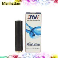 Wholesale Manhattan Mod Clone Mod SS Red Copper Manhattan Mod Full Machanical Mod for Electronic Cigarette Battery Tube E Cigarette Mod