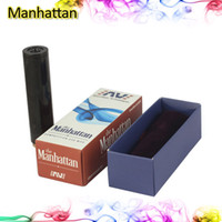 Cheap Hottest Manhattan Mod Black SS Red Copper USA Manhattan Mod Full Machanical Mod for Electronic Cigarette 18650 Battery Tube E Cigarette Mod