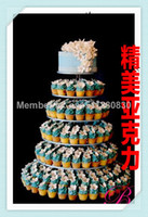Event & Party Supplies,Other Festive & P acrylic paper stand - The new acrylic tier cake The wedding paper cup frame A multilayer birthday cake can be customized acrylic cupcake stand