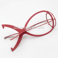 Wholesale New Arrive Folding Plastic Wig Stand Stable Durable Hair Support Display Wigs Hat Cap Holder Tool