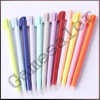 Compra Lápiz óptico para ndsl-Envío libre 50 Touch Stylus Pen para NDS NINTENDO DS LITE NDSL # 8032 mucho (50)