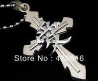 Beaded Necklaces Men's Fashion 2013 Fashion Trendy Naruto Anime Cosplay Cross Love character Necklace Pendant Key Chain Free Shipping High Quality Wholesale