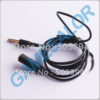 Wholesale m ft Stereo Headphone Extension Cord mm Cable with tracking number