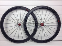 Wholesale zipp black logos C mm Clincher Tubular rim full carbon wheels wheels Road bike carbon wheelset bora FFWD sram carbon road frame