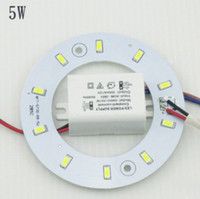Wholesale PROMOTION W W W W W SMD Ceiling Circular Magnetic Light Lamp AC85 V AC220V Round Ring LED Panel board with Magnet