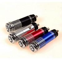 Wholesale MN V Mini Air Vitamin Car Fresh Air Ionic Purifier Oxygen Bar Ozone Ionizer Cleaner Colors