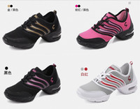 Wholesale New High Quality EU35 Sports Soft Outsole Breath Dance Shoes Sneakers Woman Practice Shoes Modern Dance Jazz Shoes Discount
