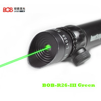 Wholesale BOB G26 III Green Tactical Green Beam Laser Sight With Rail Mount mW Laser Emitter Sharp Image Point Chinese First Band of Laser Product