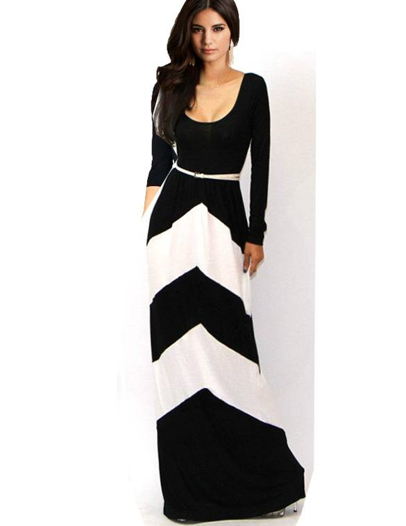 Plus Size XXL New Summer Dress 2014 Women Casual Maxi Dress Color ...
