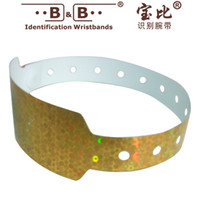 Wholesale 10pcs Disposable wristband laser wrist band bar activity recognition with wide type flash type wrist strap