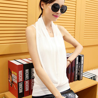 Wholesale Fashion New Design Women Vest Sexy Lady Blouses Cool Camisole Tank Tops colors for your choose