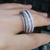 Cheap Cluster Rings Unique 925 pure jewelry Best European Men's New fashion ring