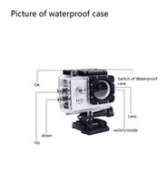 Wholesale digital camera hd camera Sports camera With WIFI G400 Control y Phone Tablet PC meters Waterproof