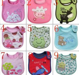 Wholesale Animal Style Hello Kitty Baby Kid Fitting Saliva towels Waterproof Infant Bibs Pinafore Baby Eat