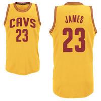 Basketball Men Sleeveless Cavalier Basketball Wears 2014 New #23 James Black Outoodr Wear Cheap Sportswears Discount Athletic Jerseys Discount High Quality Sportswear