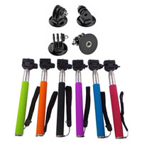 Wholesale Gopro Accessory Extendable Handheld Telescopic Monopod Holder Wand Tripod for Sport Camera Gopro Hero