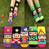 100% Cotton nutcrackers - 2014 autumn Top quality fashion Cotton Diamond supply co Brand Women Men socks Nutcracker cartoon colors