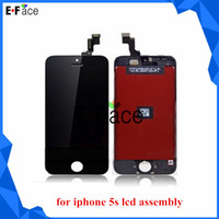 For Apple iPhone LCD Screen Panels 5s lcd assembly M1051 wholesale - Top Quality 50 pcs lot LCD display digitizer assembly for Iphone 5S lcd touch screen Replacement Free DHL Shipping