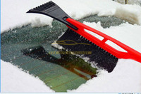 Wholesale 10x Retractable car ice snow shovel brush ice remover scraper