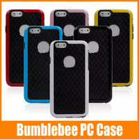 Wholesale New i6 Diamond Pattern Hybrid PC Bumblebee Bumper Cover Case for iPhone colorful up