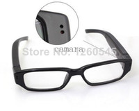 Cheap New 8GB Mini HD 720P Glasses Spy Hidden Camera Eyewear DVR Video Recorder Cam with retail box
