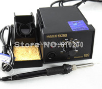 Wholesale V HAKKO Soldering Station ESD electric soldering iron W