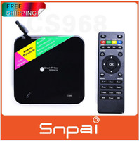Quad Core Included 1080P (Full-HD) Android TV Box Quad Core CS968 Smart tv box 1080P HDMI XBMC 2G RAM 8G ROM RK3188 Receiver HDMI media player With remote control