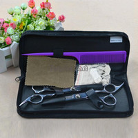Wholesale High Quality Professional Stainless Hairdressing Scissors Set Kit Barber Hair Thinning