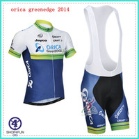 Wholesale High top orica GreenEDGE cycling jersey many choices of cycling team jersey best quality cycling jersey and shorts